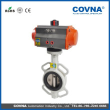 high temperature steam low pressure pneumatic butterfly valve