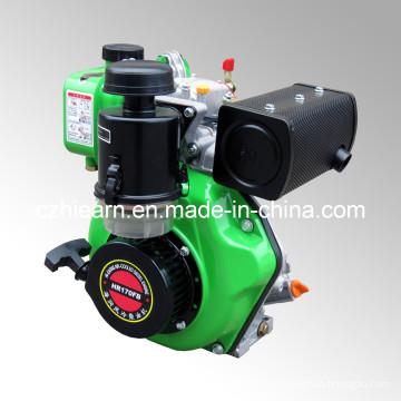 Diesel Engine with Spline Shaft Green Color (HR170FB)
