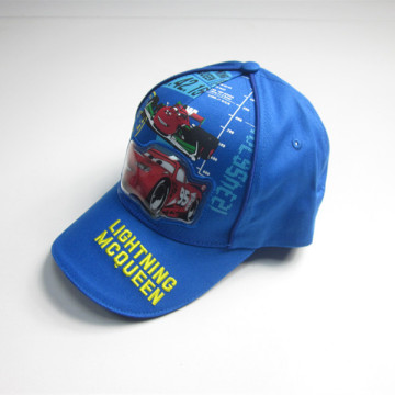 Boys Car Print Patch Sports Cap