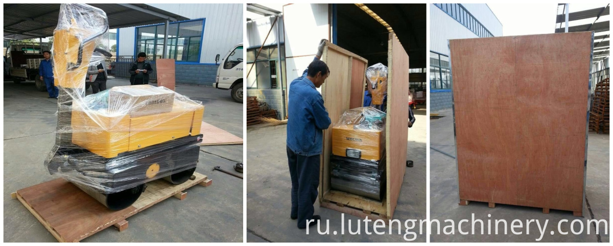 ROAD ROLLER PACKING