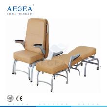 AG-AC005 Edelstahl medizinisch begleiten Klappmöbel Krankenhausstühle für Patienten