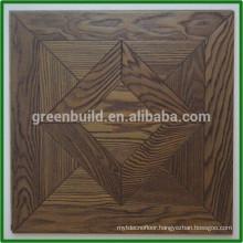 Sooty Black oak parquet flooring