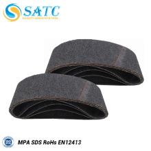 Cinturón abrasivo de óxido de silicio para pulir mármol