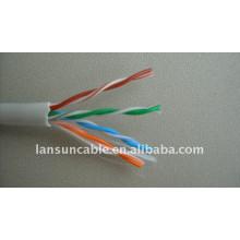 Высококачественный LAN-кабель / сетевой кабель 4P 24awg UTP Cat5e наружный / закрытый