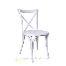 country style cross back chair for dinning