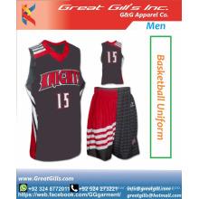 Modisches Sublimations-Basketballtrikot-Uniformdesign