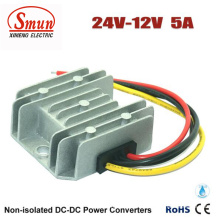 IP68 Waterproof 24VDC to 12VDC 5A 60W DC-DC Converter
