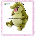 Green Laughing Stuffed Dinosaur Toy