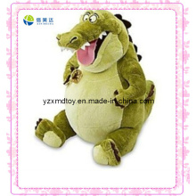 Green Laughing Stuffed Dinosaur Toy
