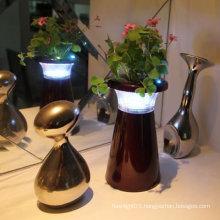 BT-1604 led plastic flower vase