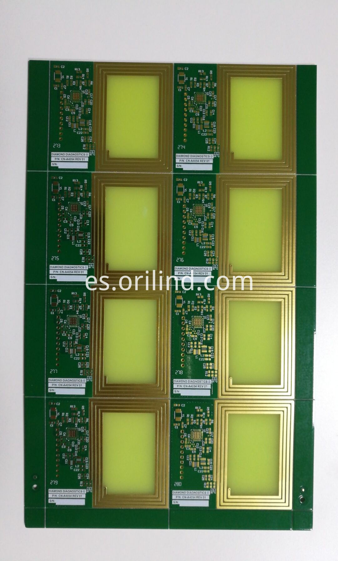 Coil printed wire board