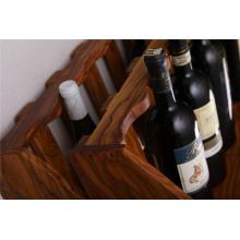 Olive Wood Wine Rack