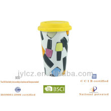 taza con silicona