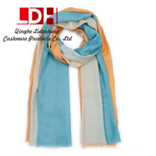 High quality new design skin friendly color matching cashmere scarf