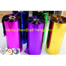 Colorful Metallized PVC Film for Making Christmas Decoration