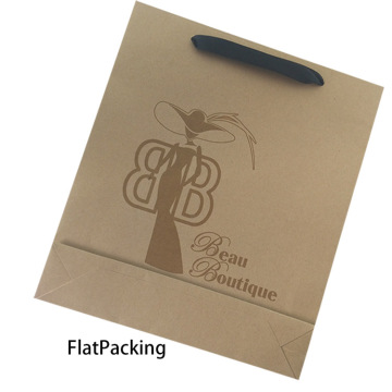 Atacado Personalizado Stand Up Kraft Paper Bag