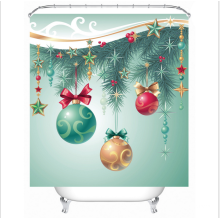 New Style factory Custom Christmas gifts Shower Curtain