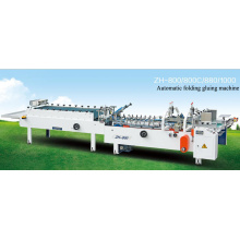 Automatic folding gluing machine