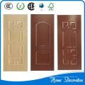 Piel de la puerta de chapa de madera natural estilo europeo sólido