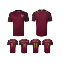Russia world cup soccer jersey