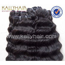 4A Grade Popular 100% Human Remy Wholesale Deep Weave Hair Weft