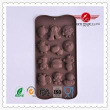 Funny Animal Shape Silicone Chocolate Cake Mould
