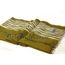 Модная шерстяная пашминовая шаль