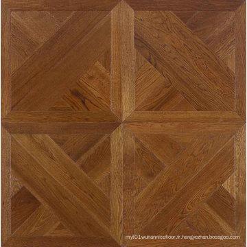 Parement en parquet en bois stratifié 12mm HDF