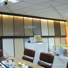 KKR mirror flakes quartz slabs,imitation stone wall panel,stone slab