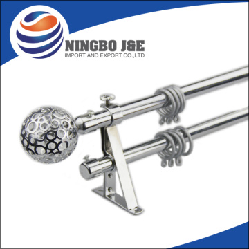 Classic Metal Curtain Rod Set