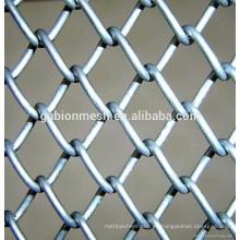 Baratos caliente sumergido galvanizado cerca de enlace de la cadena fabricante