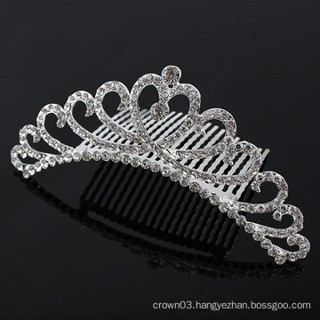 Ladies Rhinestone Comb Crystal Bridal Hair Combs
