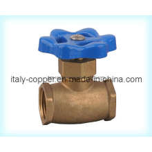 Válvula de globo de latón certificado ISO9001 (AV4004)