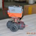 intelligente Schaltung feine kleine 3-Wege-Kugelhahn PVC AC 230V