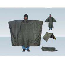 Field military dual-use poncho