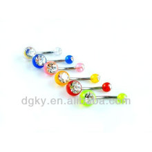 Großhandel Aacrylic Navel Button Bauch Piercing