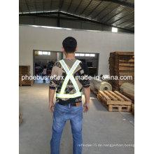 Reflektierende Sicherheitsstandard Schultergurt En13356