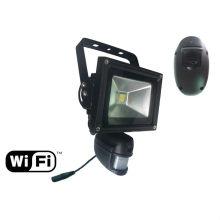 прожектор безопасности с беспроводной WiFi скрытые камеры, встроенные в датчик движения pir