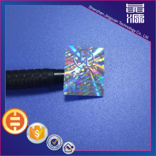 Label Hologram Hologram PET 3D Waterproof