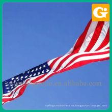 Bandera de tela de los EE. UU., Bandera americana de tela, decorativos de banderas nacionales