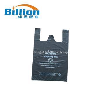 Custom Designed Plastic T Shirt Bag