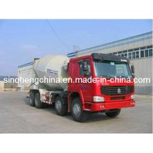 Camion de mélangeur concret de XCMG 14m3 résistant / camion de mélange / camion de mélangeur de ciment avec le châssis de Sinotruk