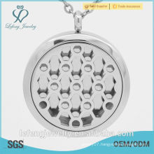 New style stainless steel Oil Diffuser Perfume Locket
