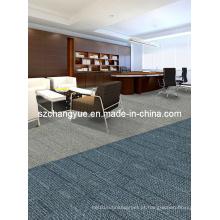 Nylon Modular Modern Office Carpet Azulejos com PVC Backing