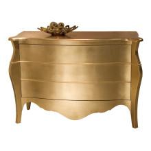 Hotel Gold Foil Console Cabinet