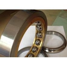 Single Row C3 Angular Contact Ball Bearing Qj315 For Automotive , Metal Cage