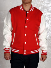 Imported Varsity Baseball for Men Jacket with Two Pockets