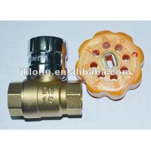 Magnetic Lockable Brass Ball Valves,Lock Ball Valve
