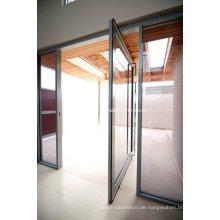 Kundenspezifische High End Residential Frame Pivot Aluminium Tür