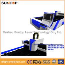 Tipo Econômico Máquina de Corte a Laser de Fibra para Máquina de Corte a Laser de Aço / Metal para Venda
